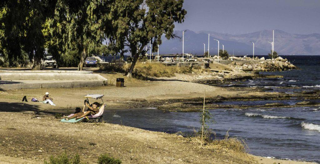 Artemida beach, East Attica, Greece