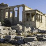 The Temple of Athena, The Acropolis, Athens, Greece