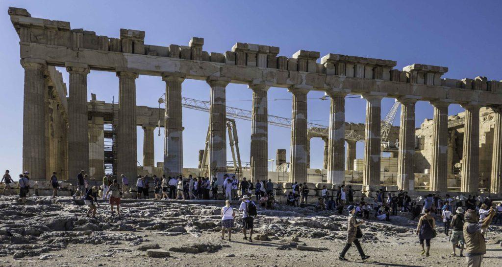 Reconstruction of The Parthenon, The Acropolis, Athens, Greece