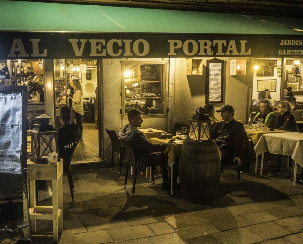 Al Vecio Portal restaurant, Venice, Italy