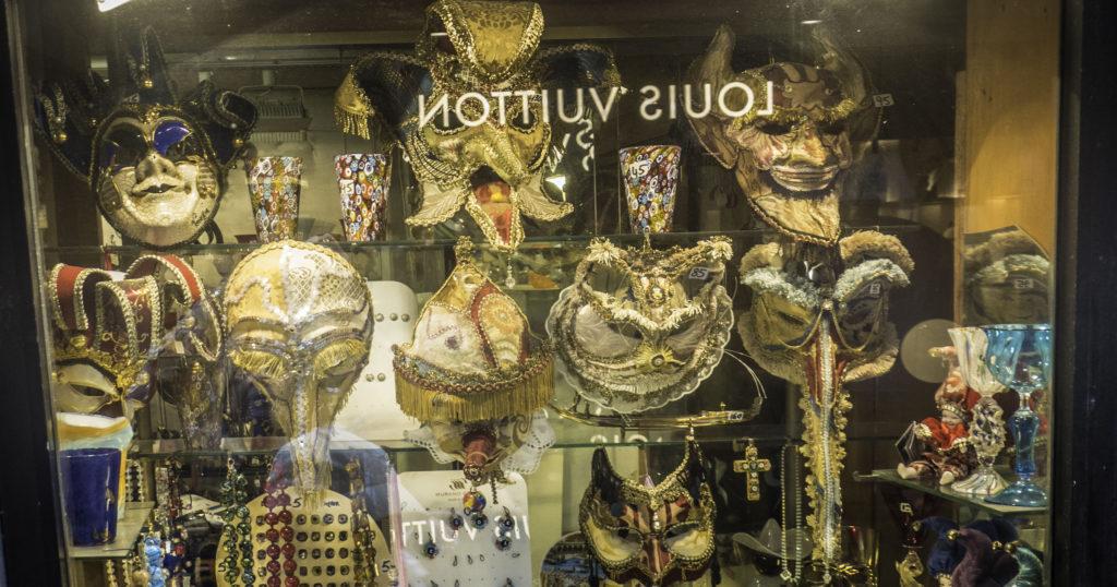 Shops, Venice, Italy