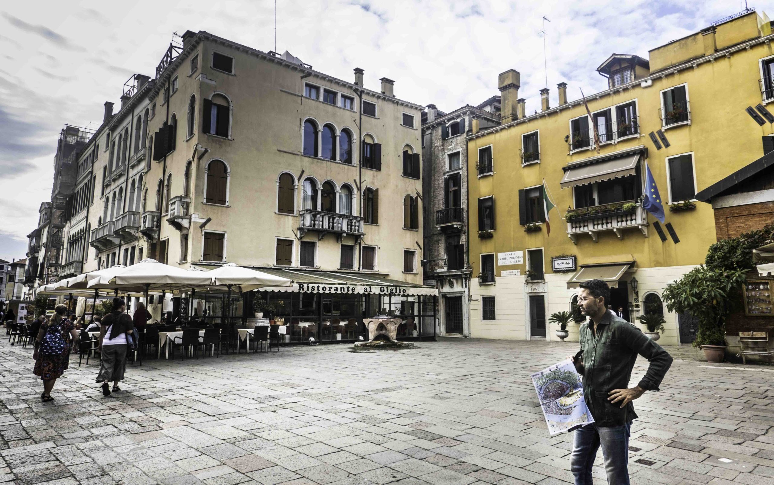 Teatro la Fenice square, Venice, Italy