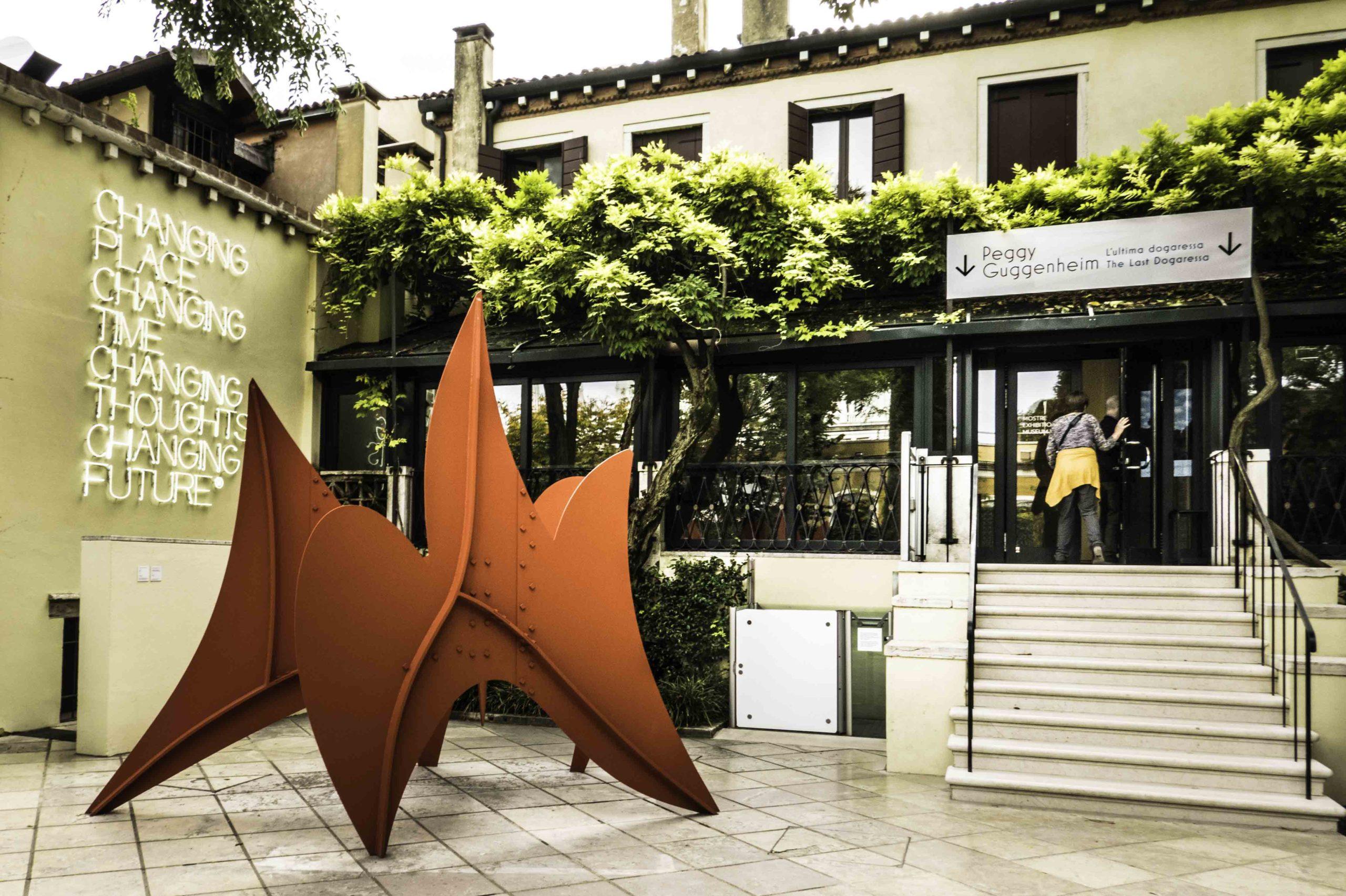 Peggy Guggenheim museum, Venice, Italy