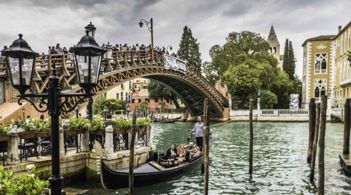 Accademia Bridge, Venice, Italy