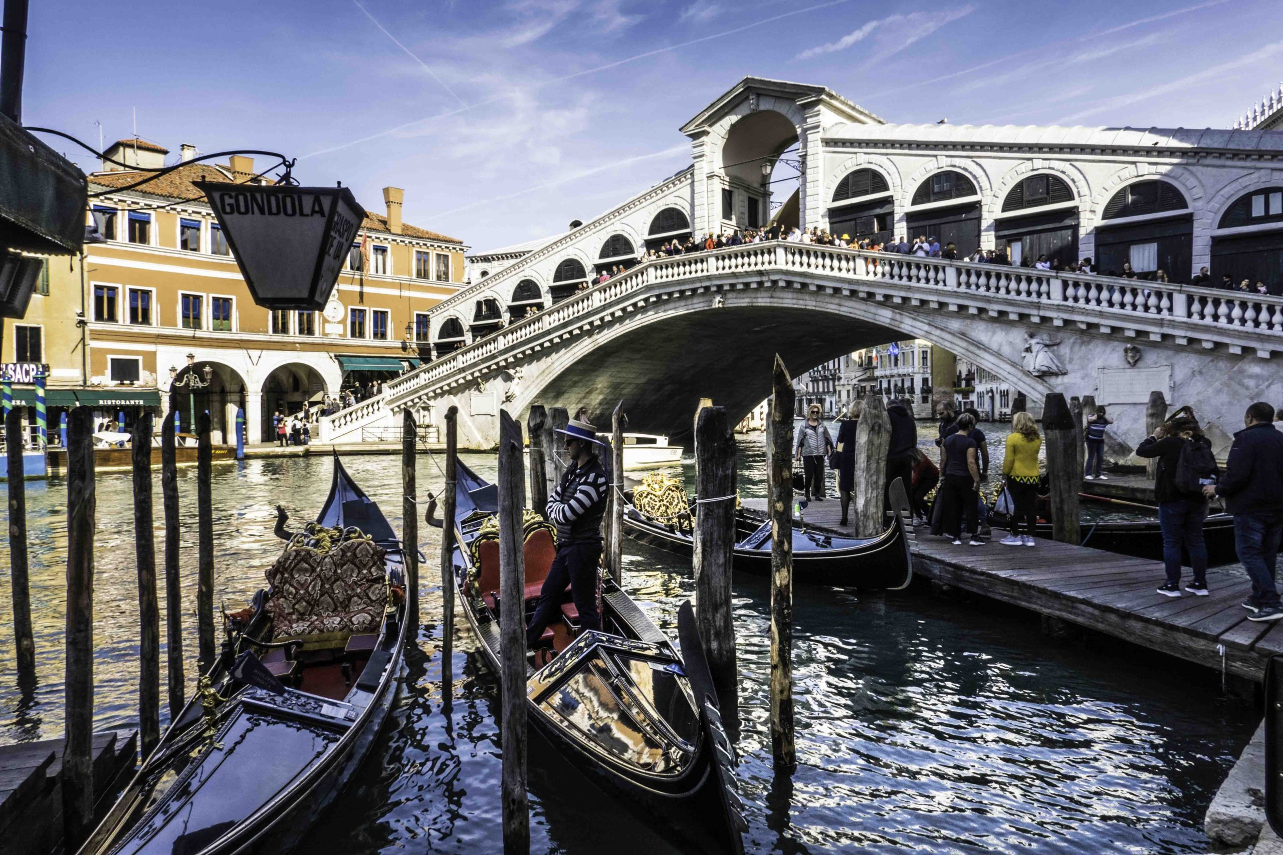 Rialto Bridge, The Grand Canal, Venice, Italy