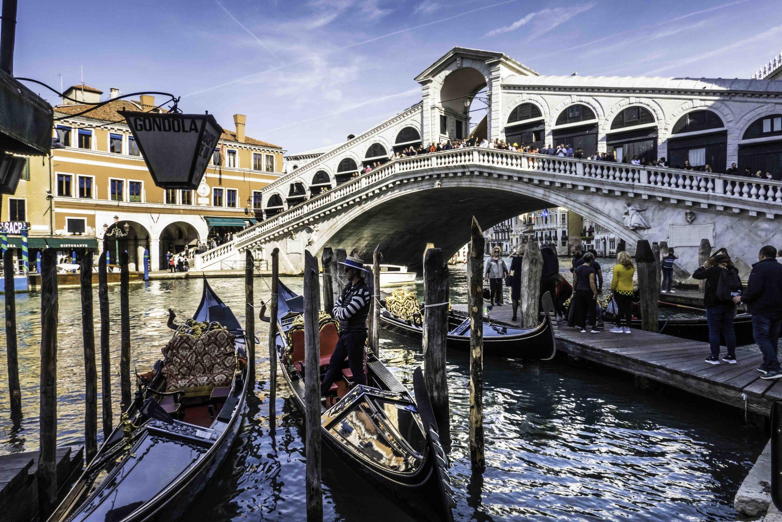 Rialto Bridge, The Grand Canal, Venice, Italy