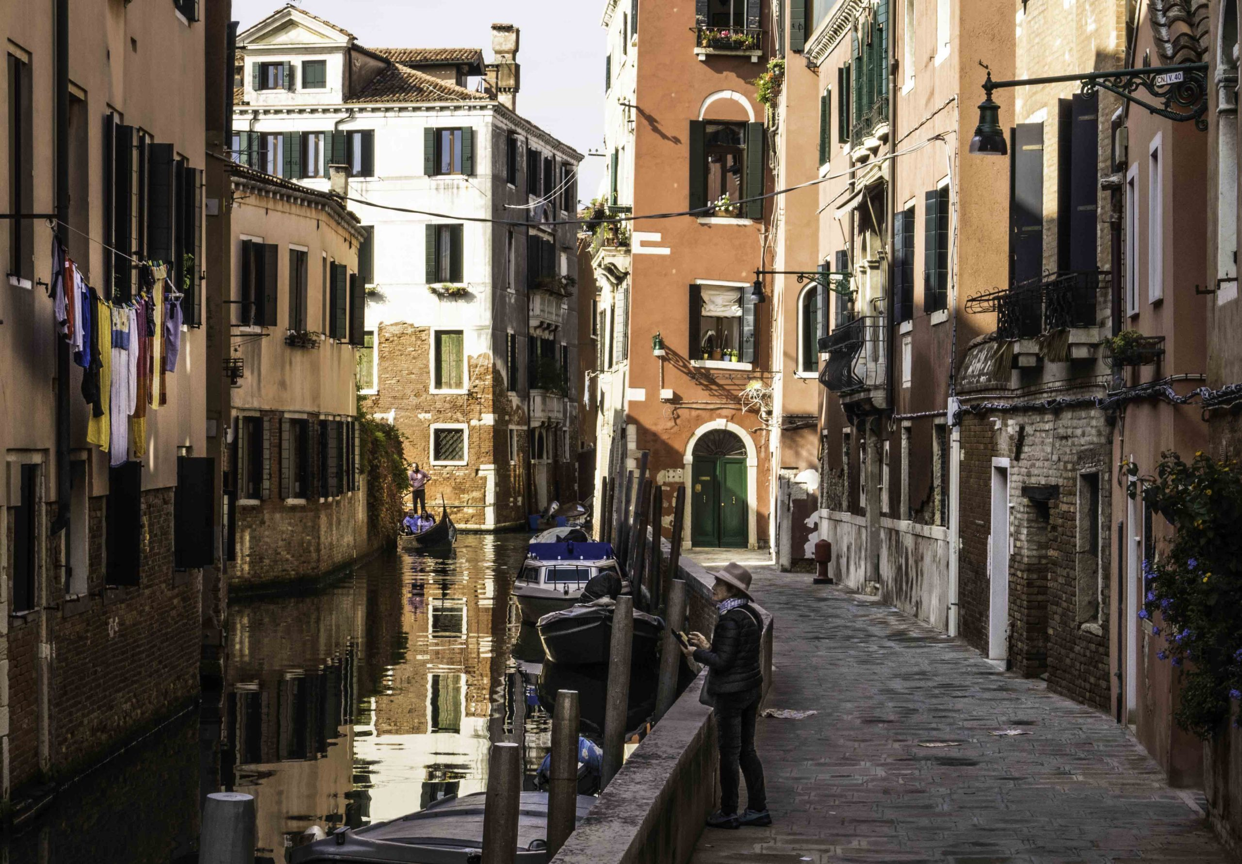 Neighborhood canal, Venice, Italy