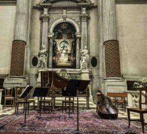 Vivaldi concert, Interpreti Veneziani, Chiesa San Vidal, Venice, Italy