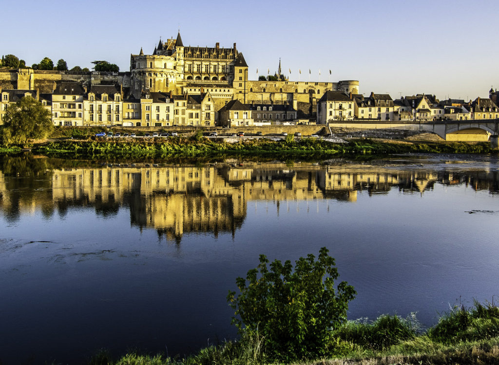 Amboise on the Loire River, France