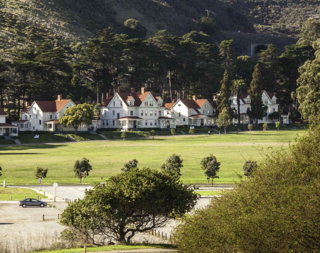 Cavallo Point Resort, Fort Baker, Golden Gate National Recreation Area, San Francisco, California