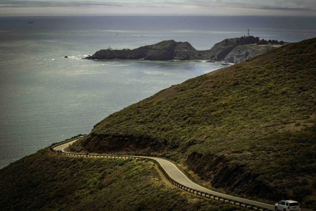 Conzelman Road to Point Bonita Lighthouse, Marin Headlands, Golden Gate Recreation Area, San Francisco, California