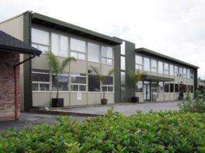 First headquarters of Fairchild Semiconductor, 844 E. Charleston Road, Palo Alto, California