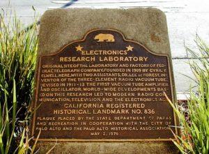Site of Federal Telegraph Company Laboratory, Palo Alto, California