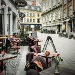 Copenhagen sidewalk cafes