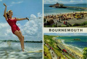 Bournemouth multi-view postcard by John Hinde, circa 1960