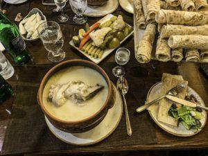 Khash an Armenian breakfast