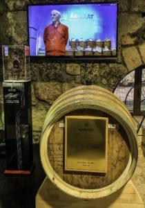 Ararat brandy commemorating Charles Aznavour's visit, Treasures of Armenia