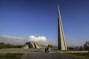 Genocide Memorial in Yerevan, Armenia