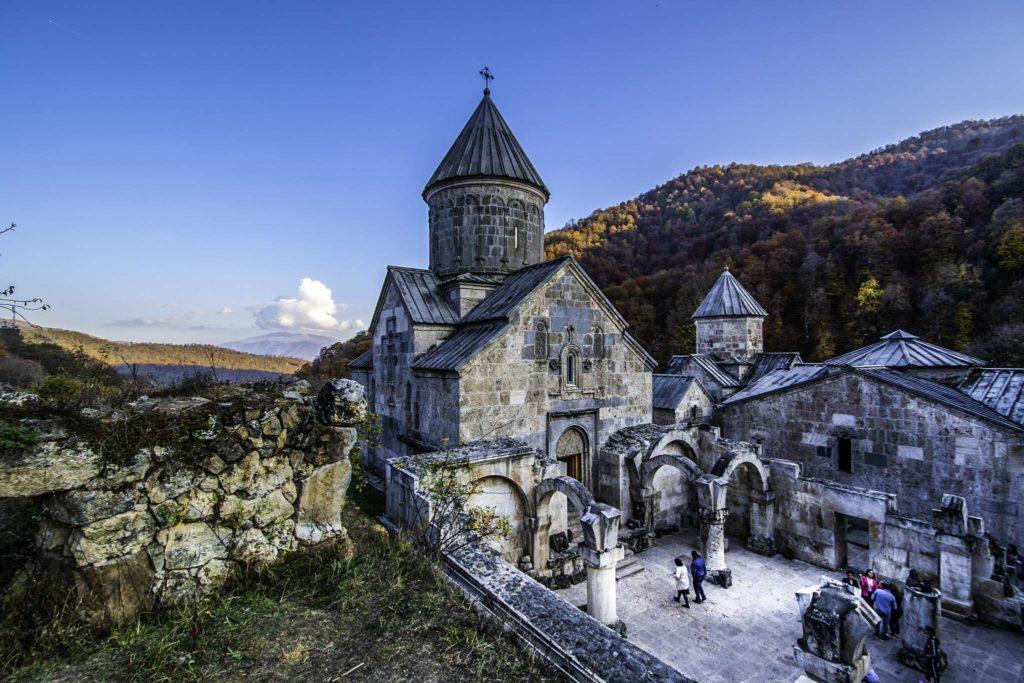 Haghartsin monastery in the Dilijan National Park, Armenia