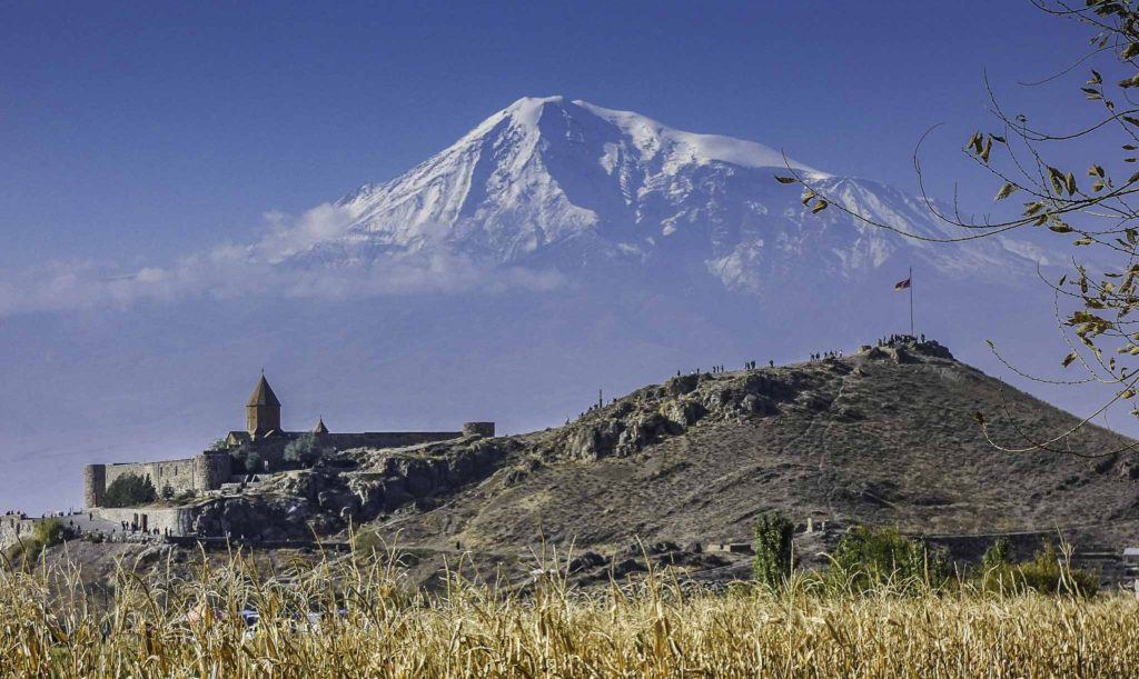 Khor Virap monastery and Mount Ararat, Armenia