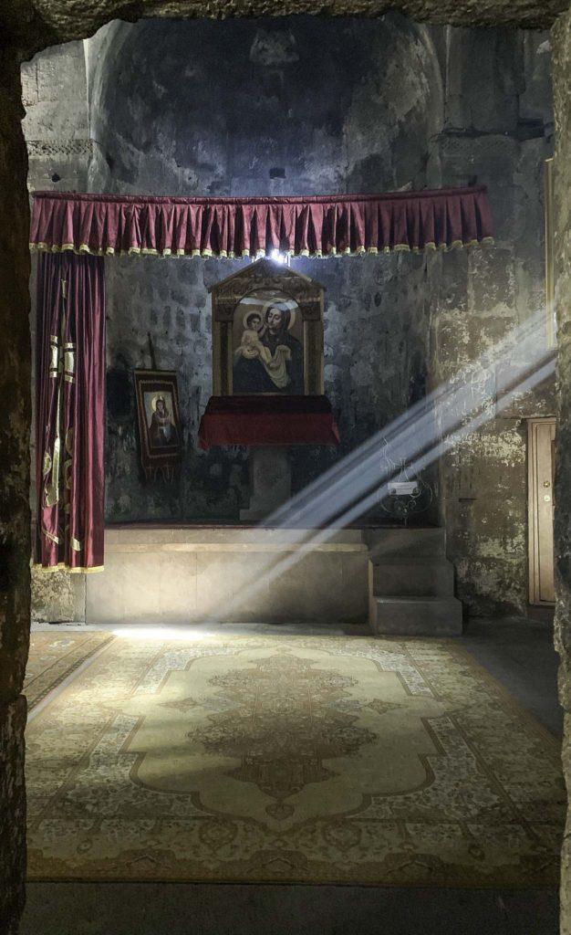Light in an Armenian monastery, Treasures of Armenia