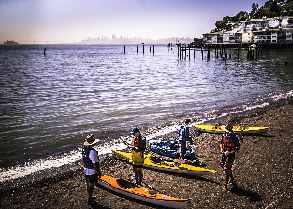 Sausalito Kayak Tour, Sausalito, California