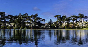 Golden Gate Park, Circle of Lakes, San Francisco, California