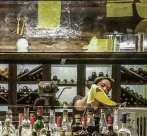 """The restaurant """"Monteverde"""", pasta making, Chicago, Illinois"""