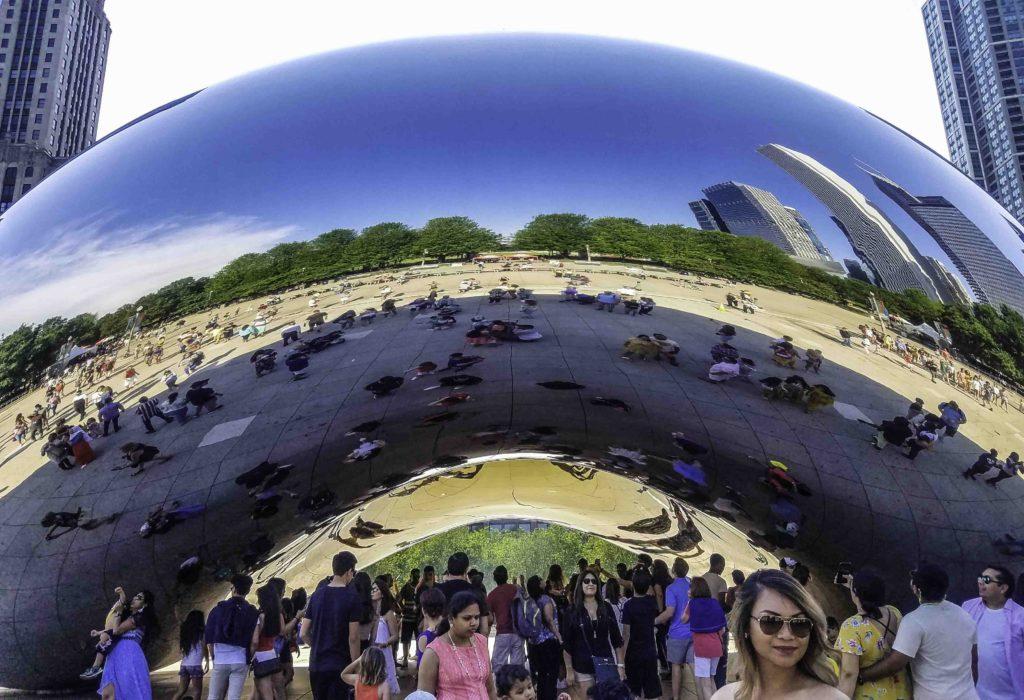 The Bean Statue, Chicago, Illinois
