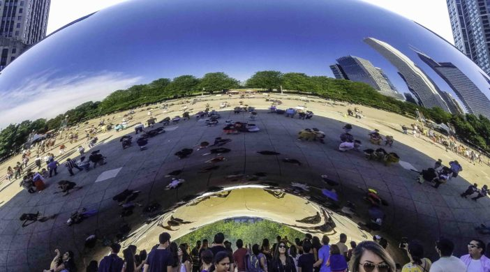 The Bean Statue, Chicago, Illinois