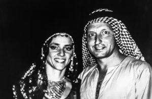 Carol and Jack Canter, Nile Cruise, Egypt