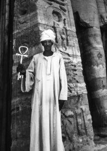 Priest at Abu Simbel, Egypt