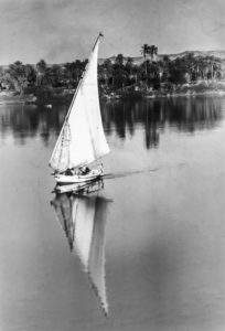 Felucca on the Nile, Egypt