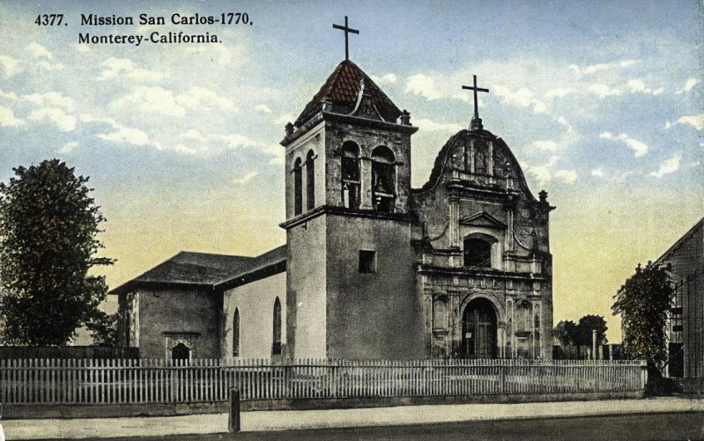 California Historical Landmark (CHL) # 105, 500 Church Street, Monterey, California
