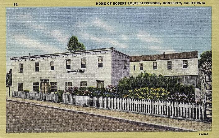 The French Hotel aka The Robert Louisa Stevenson House, Monterey, California