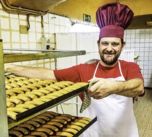 Casale Monferrato Krumiri Chef , Monferrato area, Piedmont, Italy