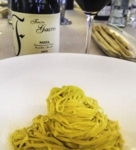 Cascinale Nuovo Tajarin pasta, Monferrato area, Piedmont, Italy