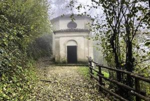 Sacre Monte chapel, Monferrato area, Piedmont, Italy
