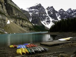 Moraine Lake, Valley of the Ten Peaks, Jasper National Park, Alberta, Canada
