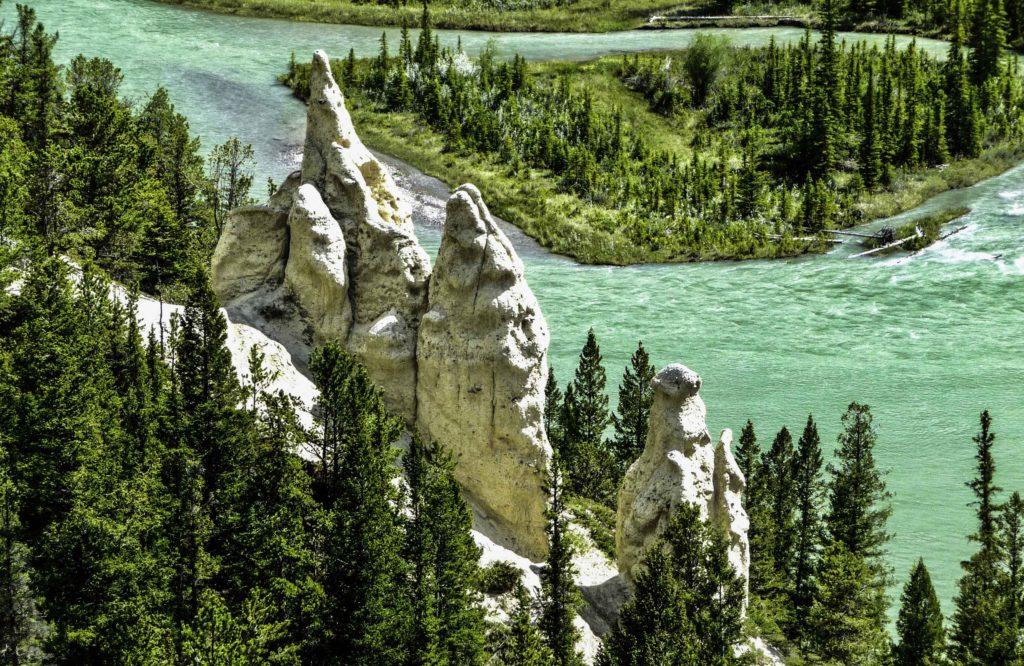Hoodoos, Jasper National Park, Alberta, Canada