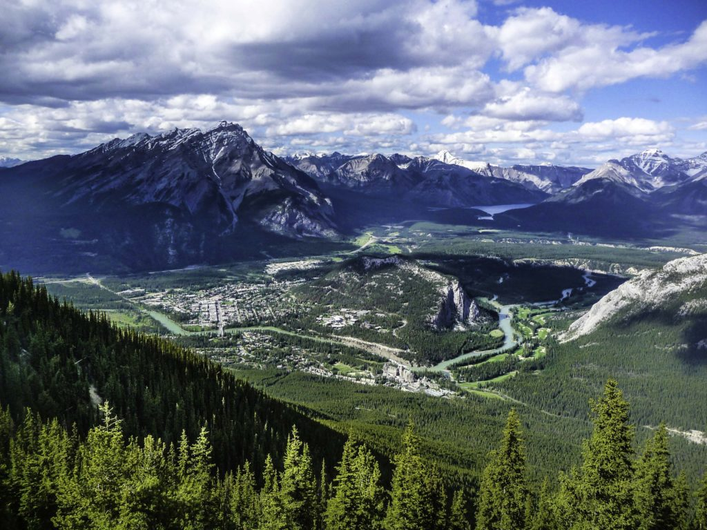 Sulphur Mountain, Banff, Jasper National Park, Alberta, Canada
