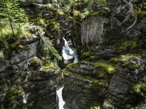 Maligne Canyon, Pyramid Mountain, Jasper National Park, Alberta, Canada
