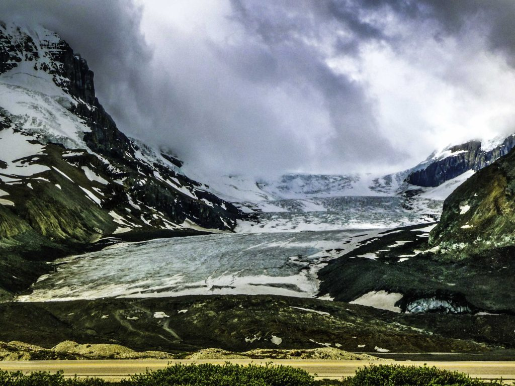 Columbia Glacier icefield, Jasper National Park, Alberta, Canada