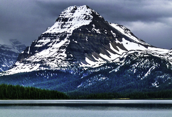 Bow Lake, Jasper National Park, Alberta, Canada