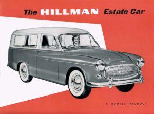 Steinbeck, Hillman Minx Estate Car brochure