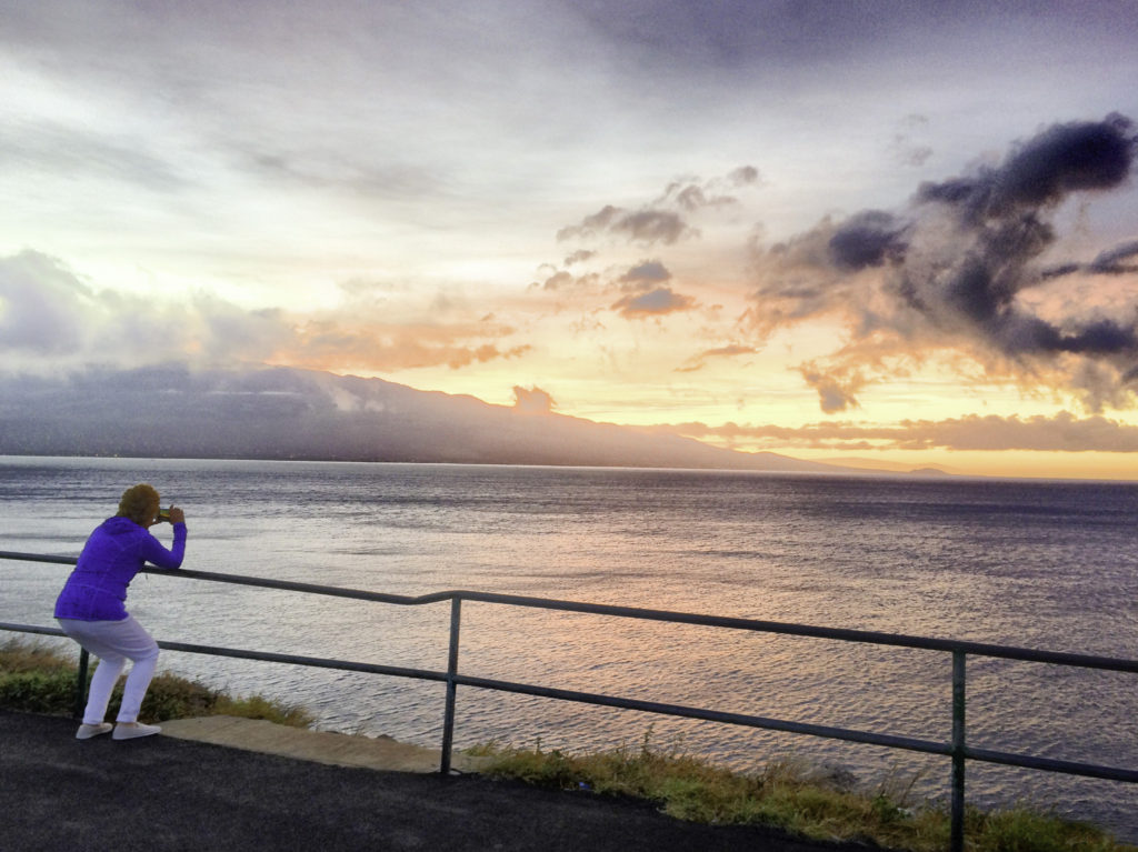 Sunrise on Maui, Hawaii
