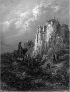 Steinbeck, Illustration from Idylls of the King