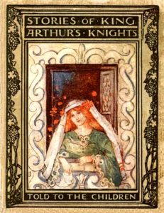 Steinbeck, Stories of King Arthur's Knights Told to the Children (1907) Cover art by Katharine Cameron