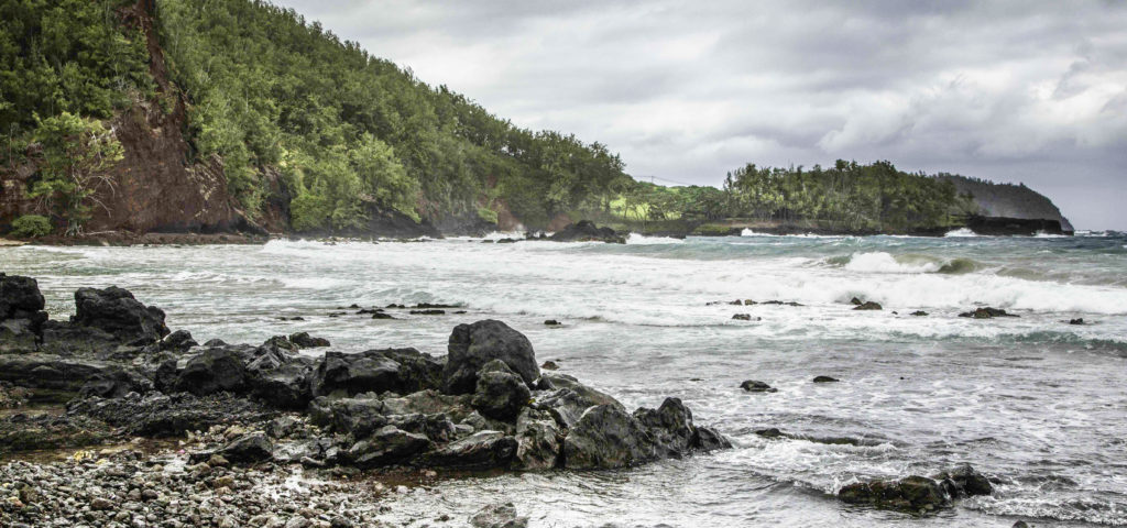Southeast shore, Maui, Hawaii