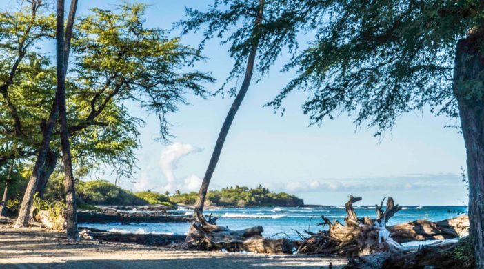 Anaeho'omalu Bay, Kohala, Big Island, Hawaii
